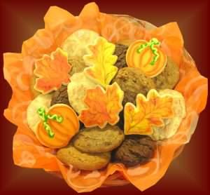 Galletas caseras de otoño