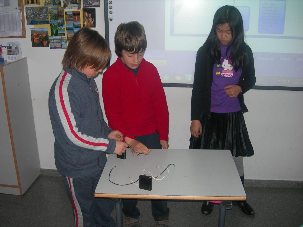Mini circuito de electricidad
