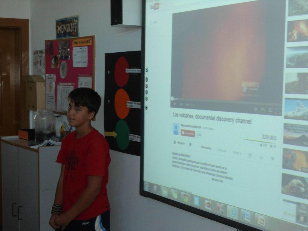 Mateo nos habla de volcanes