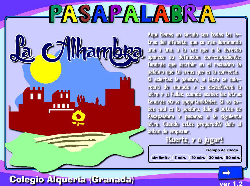 Pasapalabra Alhambra