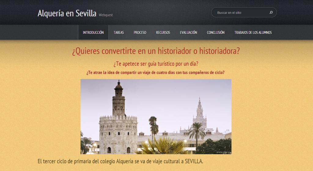 Webquest Sevilla