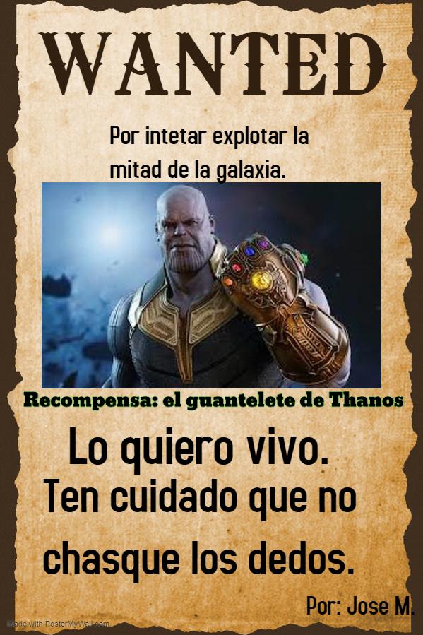 Jose. Thanos