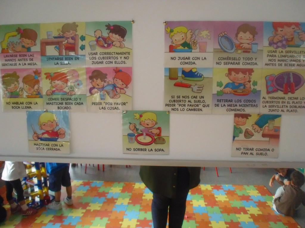 18 septiembre 2015 blog de infantil roja verde for Normas para el comedor escolar
