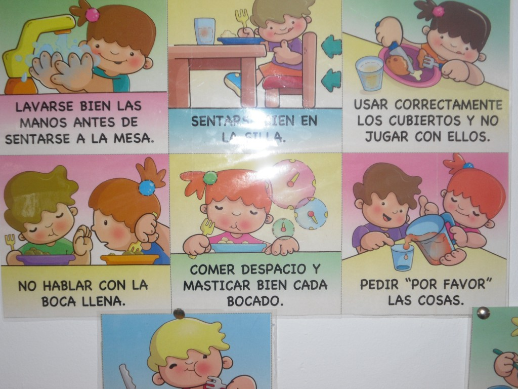 Septiembre 2015 blog de infantil roja verde for Normas para el comedor escolar
