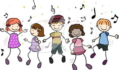 Resultado de imagen de children dancing free clipart