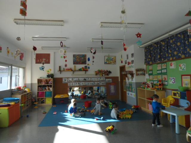 Dsc01315 blog de infantil amarilla naranja for Decoracion aula primaria